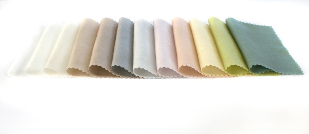 Der neue Akustikvorhang ist in zwölf Farbtönen erhältlich. Abbildung: © Création Baumann