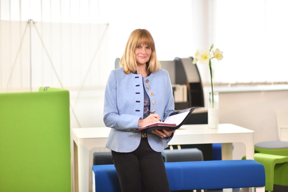 Geschäftsführerin Sandra Jung von Büro-Jung. Abbildung: Büro-Jung