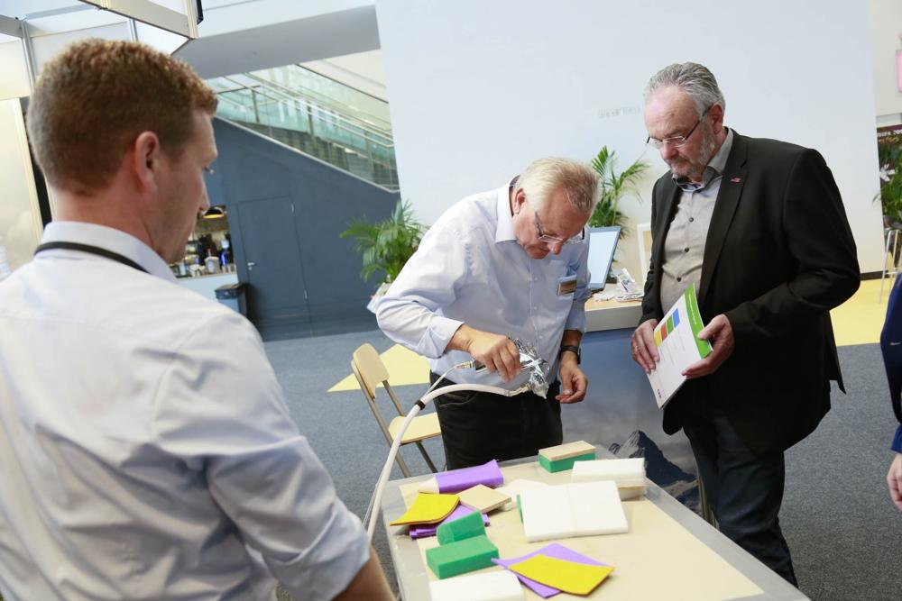Konkrete Lösungen für konkrete Akustikprobleme. Abbildung: Westfalenhallen Unternehmensgruppe GmbH