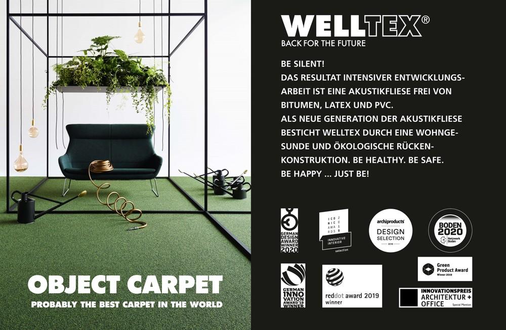 WELLTEX Akustik Plus - Awards und Auszeichnungen