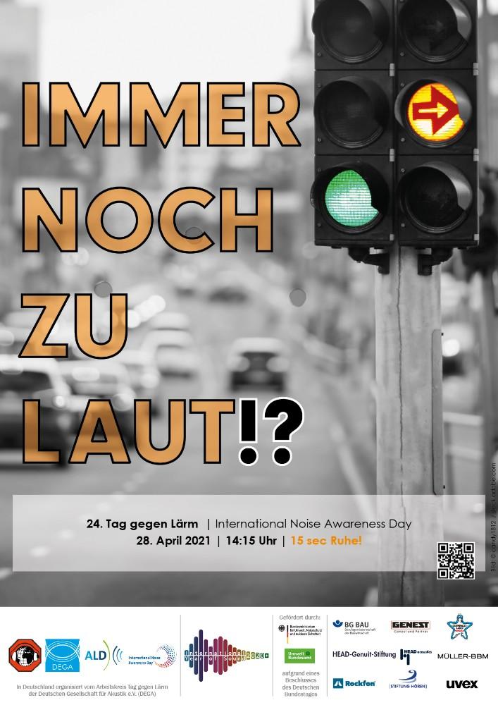 Der Tag gegen Lärm soll für mehr Ruhe im Alltag sensibilisieren. Abbildung: Deutsche Gesellschaft für Akustik e. V. (DEGA)