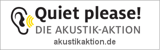 Quiet please! Die Akustik-Aktion
