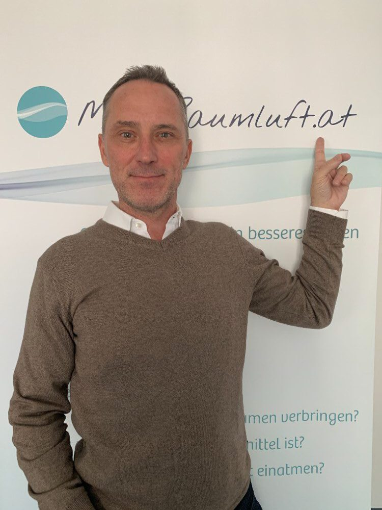 Peter Skala, Initiator und Sprecher von MeineRaumluft D-A-CH. Abbildung: MeineRaumluft