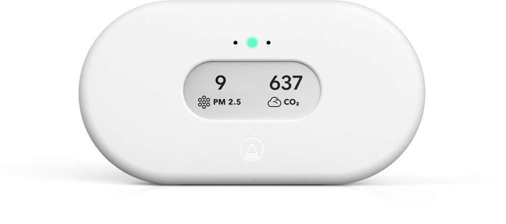 View Plus for Business ist das weltweit fortschrittlichste System für das Monitoring von Luftqualität in Innenräumen. Abbildung: Airthings