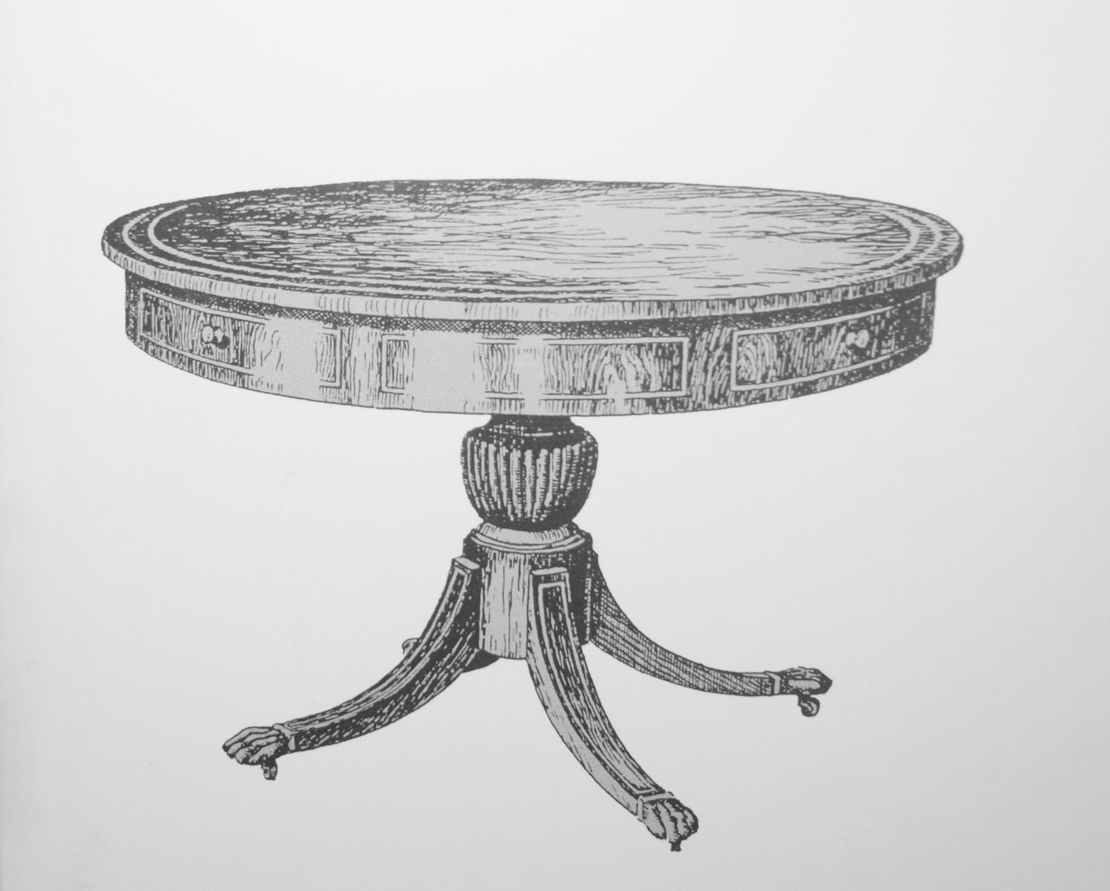 Die Geschichte des Tisches