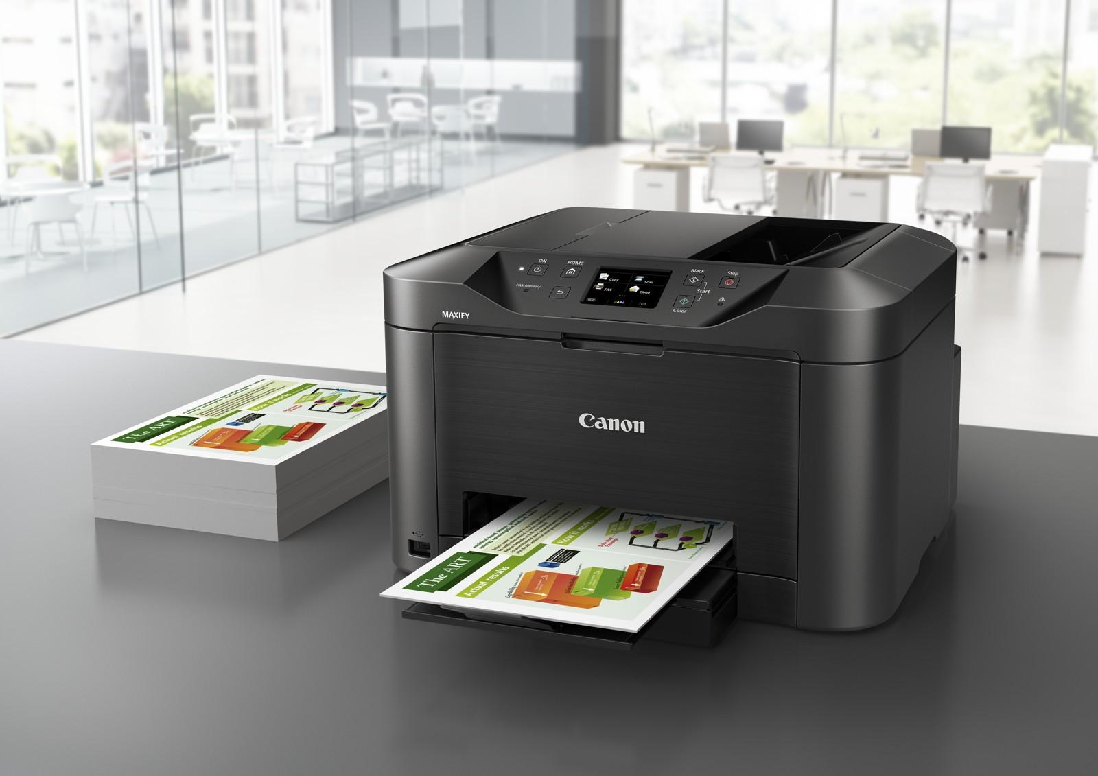 Umweltfreundliche Beschaffung von Druckern und Multifunktionsgeräten