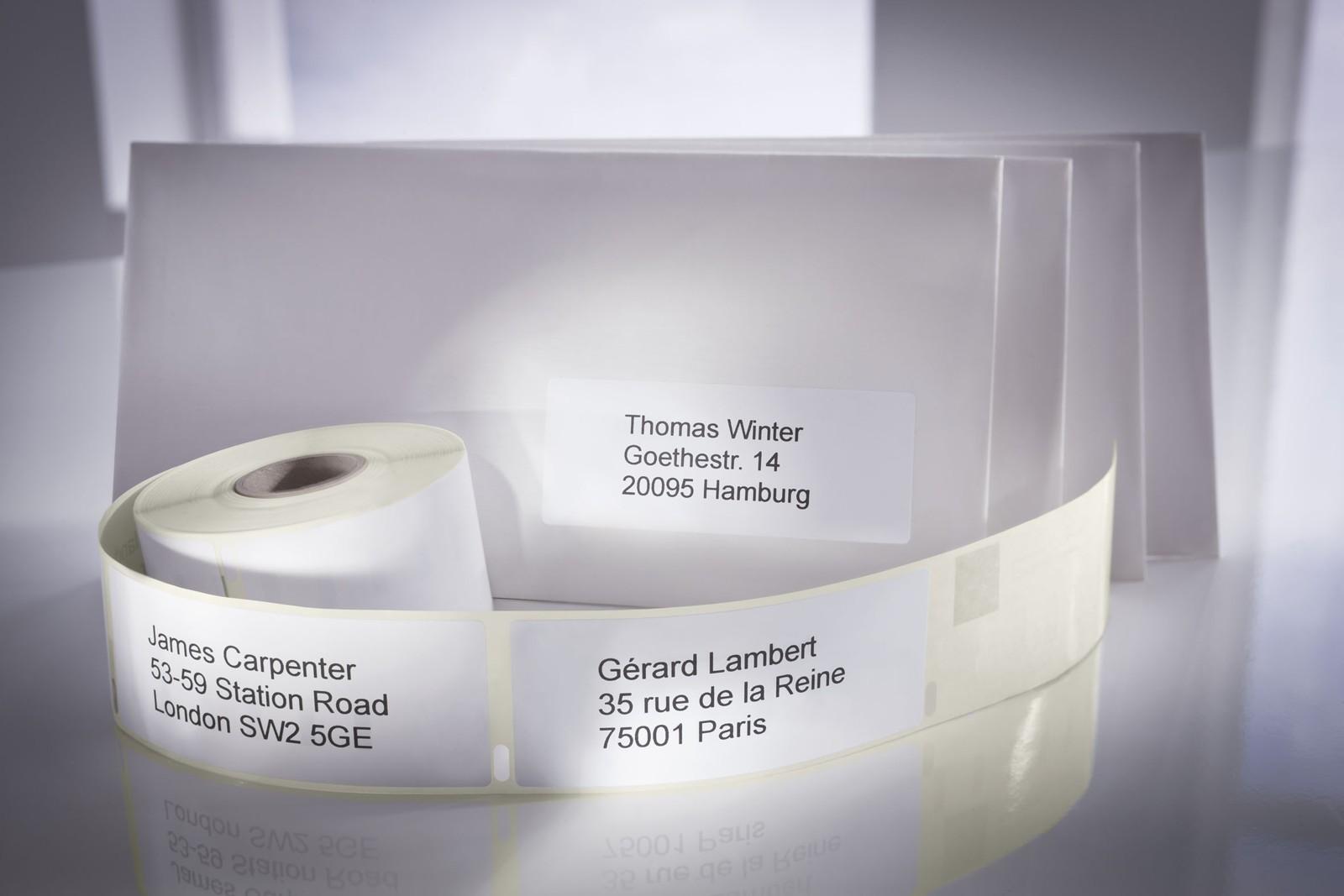 Thermodirekt-Rollenetikettendrucker ermöglichen kostengünstiges Etikettieren.
