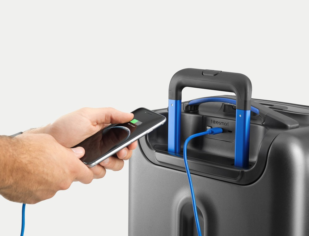 Smarte Helfer Büro 4.0: Bluesmart Carry-on von Bluesmart