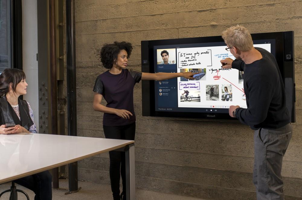 Interaktive Meetings werden Standard. Foto: Microsoft