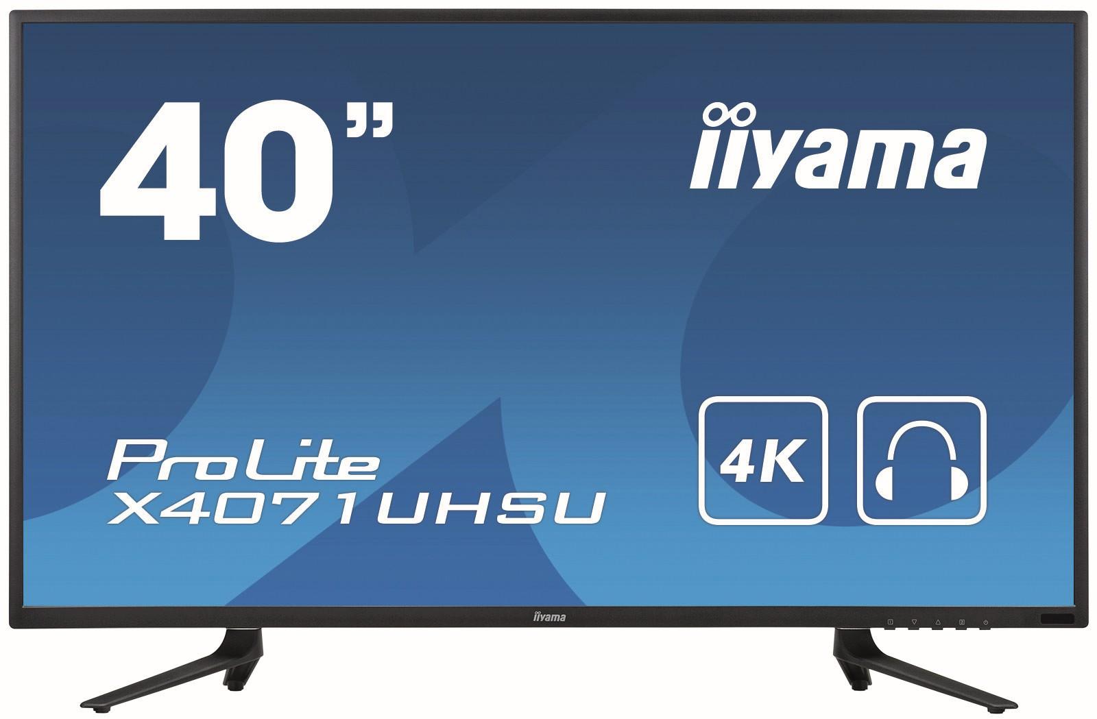 Monitore: Größe - Bildschirmdiagonalen von einem Meter wie beim X4071UHSU-B1 von iiyama stellen längst nicht das Ende der Fahnenstange dar.