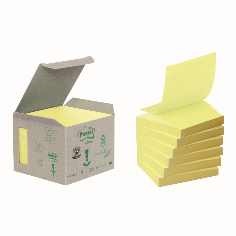 Post-it Recycling Z-Notes von 3M