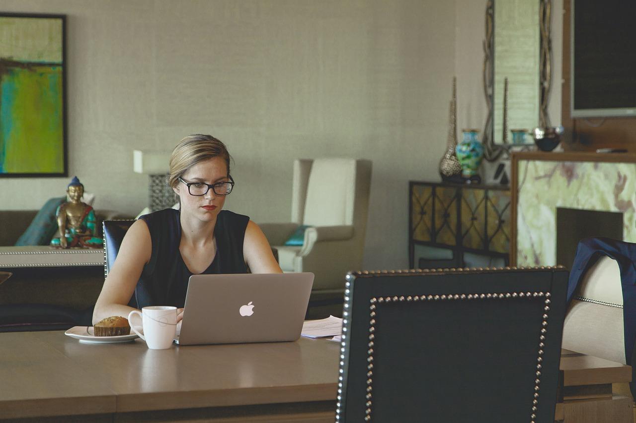 Arbeit im Home-Office