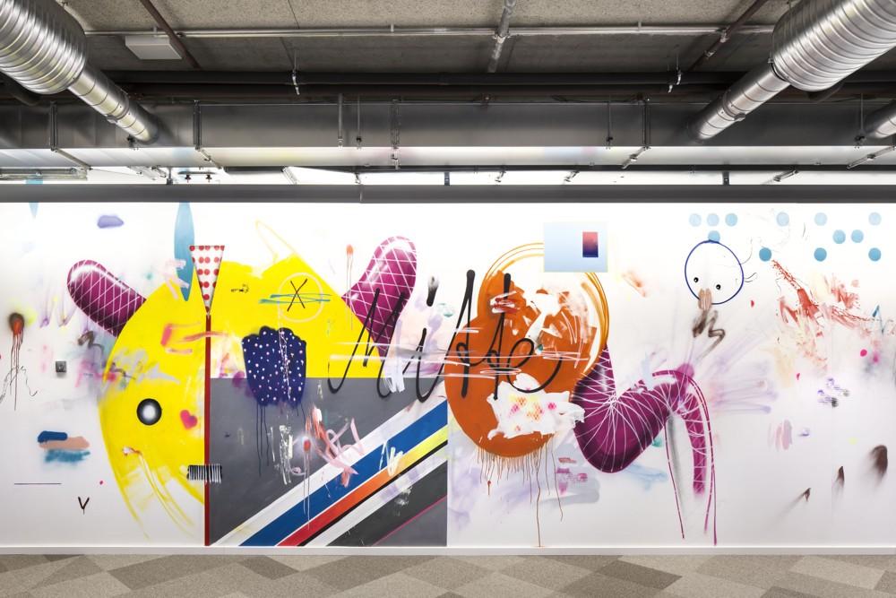 Facebook: Hommage an die East Side Gallery, gestaltet vom Künstler Mark Jung.
