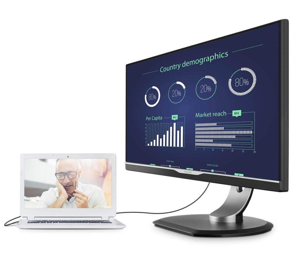 Monitor 258B6QUEB von Philips