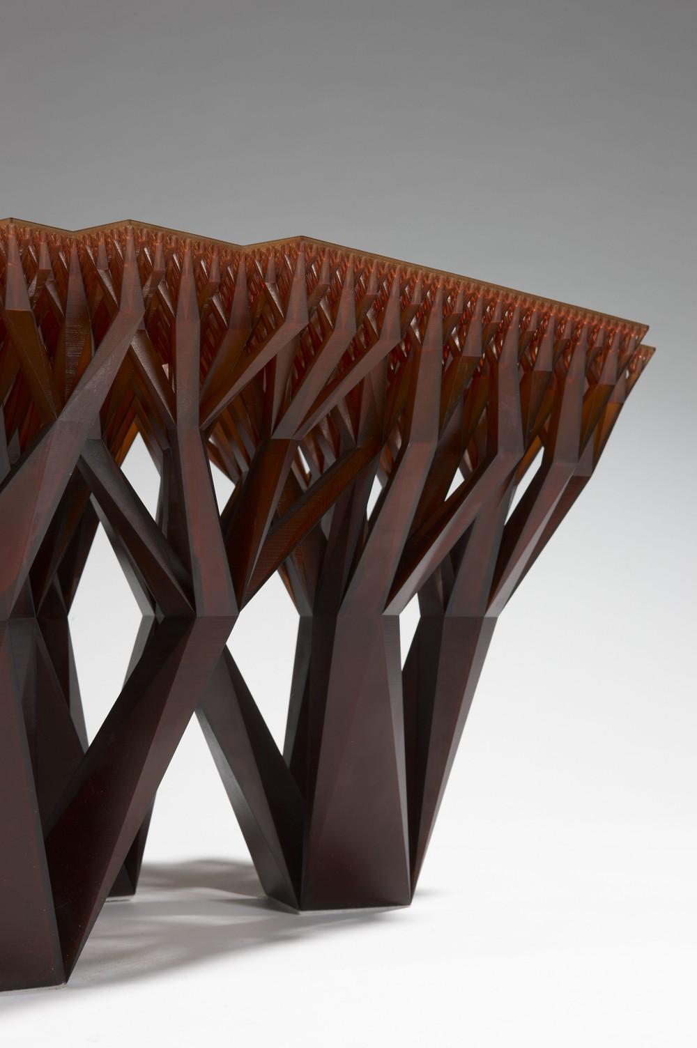 Fractal.MGX, entworfen von WertelOberfell für .MGX by Materialise. Foto: Stéphane Briolant Paris