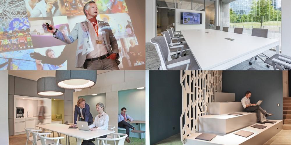 """Der PRIMA-VIER-Verlag und der Büromöbelhersteller Haworth veranstalten am 24. November 2016 ein Info-Event zum Thema """"Modern Office – Büro im Wandel""""."""
