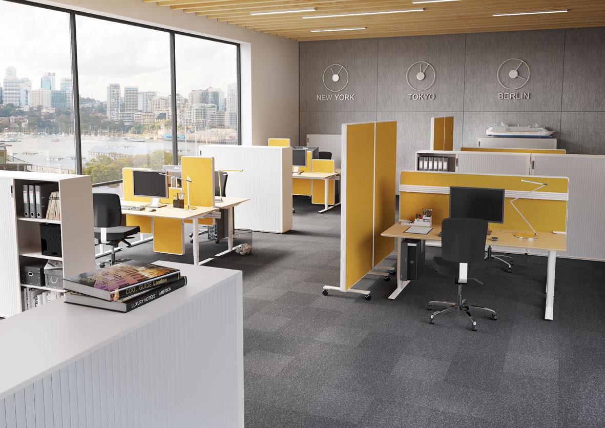 Moderne bürogestaltung  Akustikrichtlinien für die Bürogestaltung - OFFICE ROXX