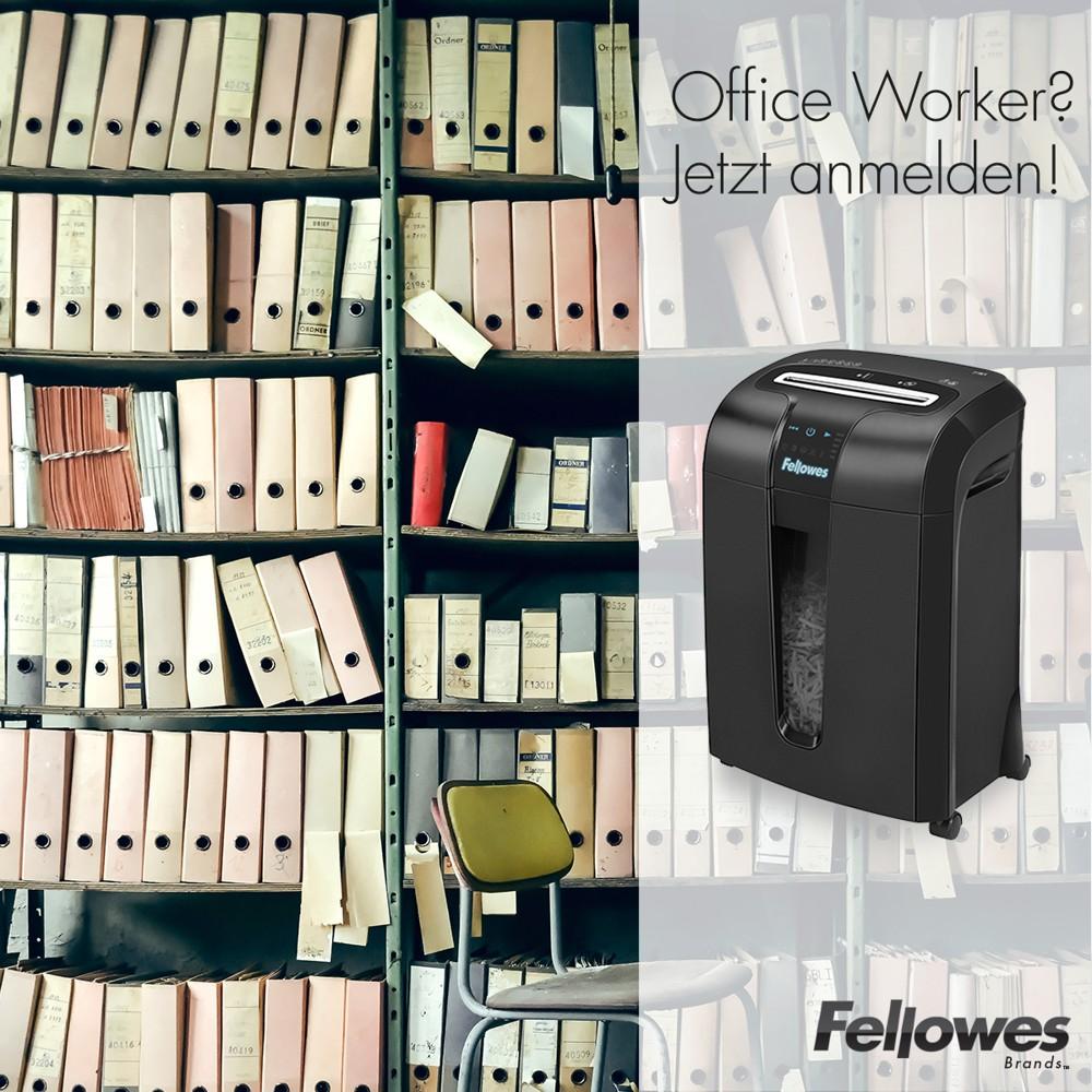 Fellowes sucht Office-Worker für Shredder-Test