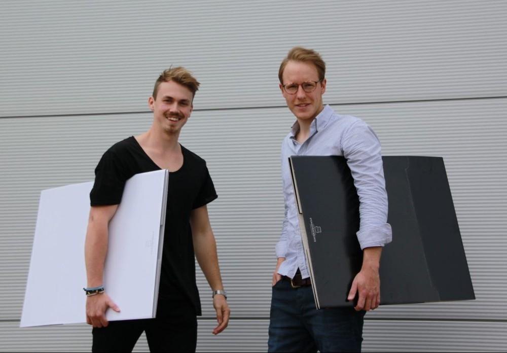 Die Gründer Jannik Schäfer und Johannes Meisenheimer.