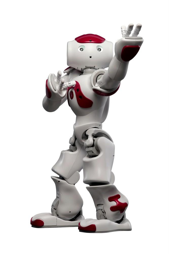 Zu Diensten: Dieser Roboter wurde von Japan Airlines in Tokio getestet. Foto: SoftBank Robotics
