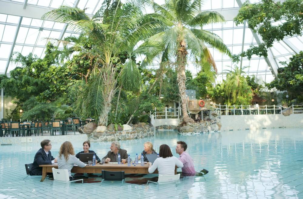 Paradiesisch konferieren in den Business Parks der Center Parks.