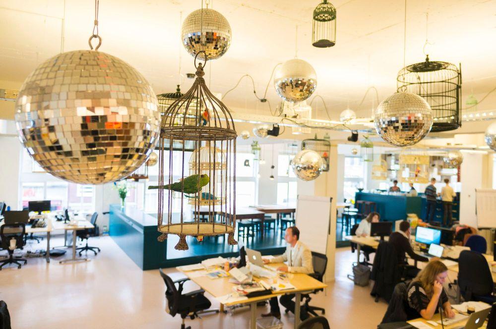 TravelBird-Büro in Amsterdam. Foto: Glassdoor.de