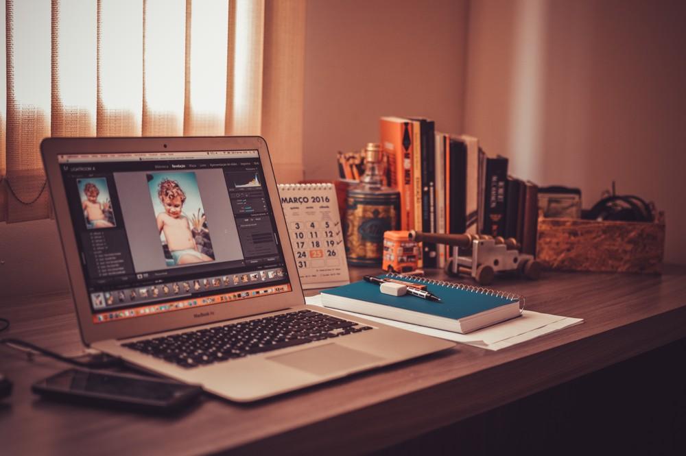 Home-Office: Mehr Ruhe bei der Büroarbeit geht nicht. Foto: Pixabay