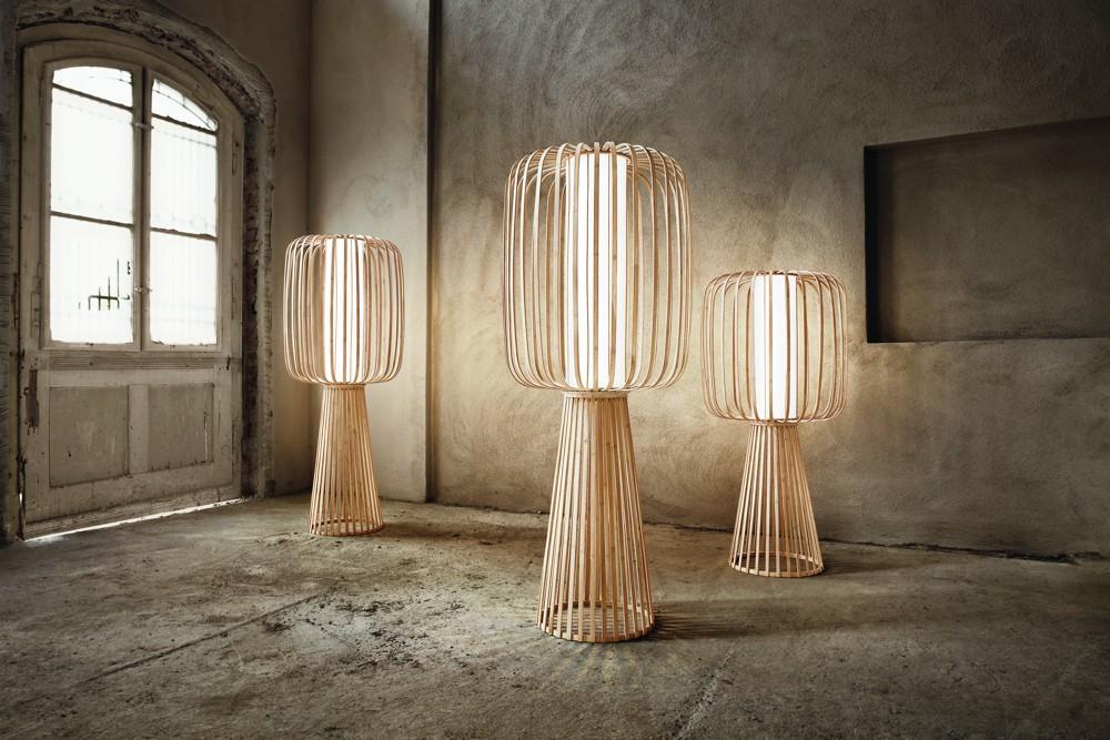 Bambuslampe Moolin von lasfera.