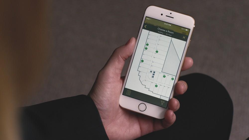 Hilton HHonor App - Zimmerauswahl