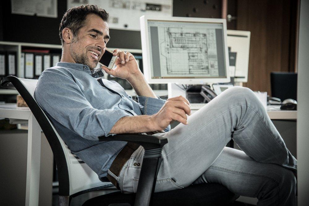 Das ergonomische Büro - Interstuhl ergonomisch