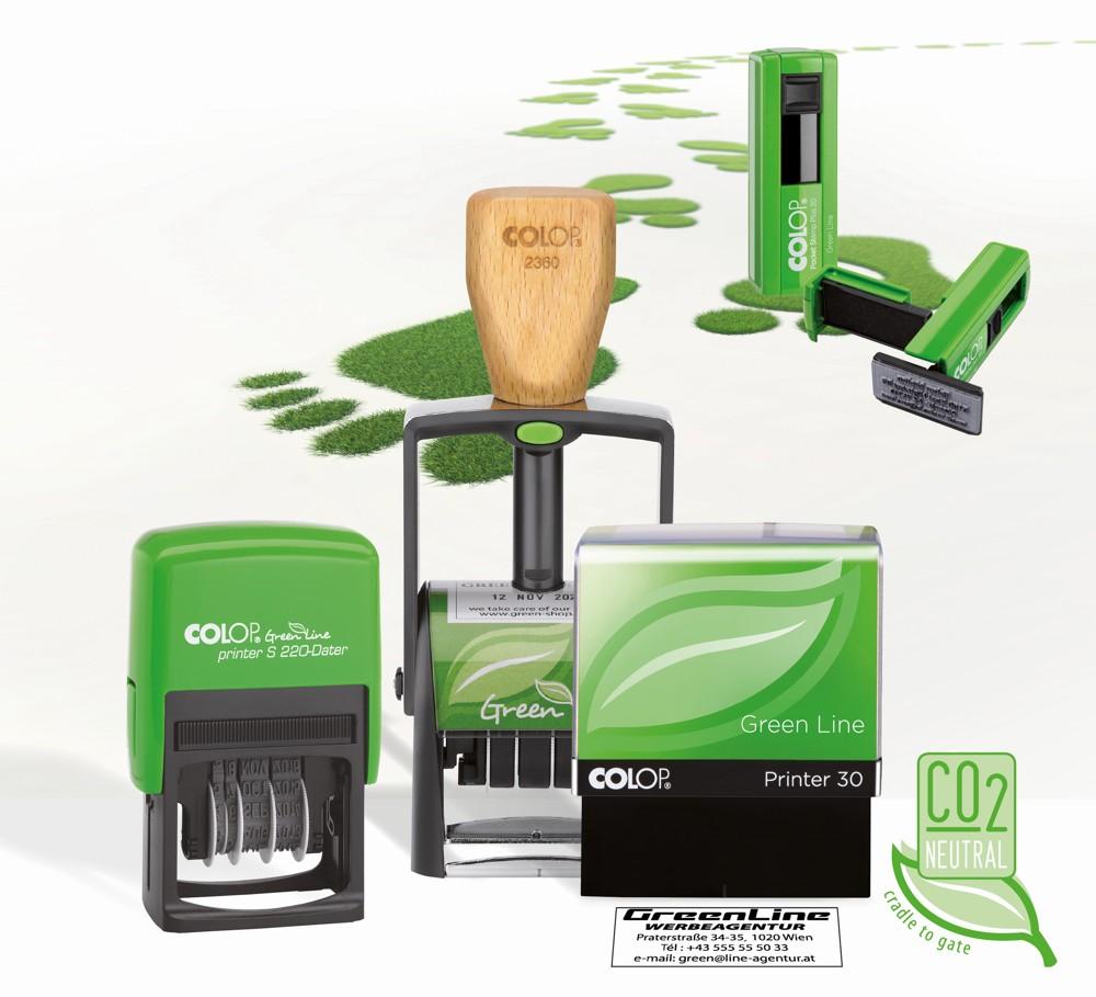 Green Line Serie von Colop.