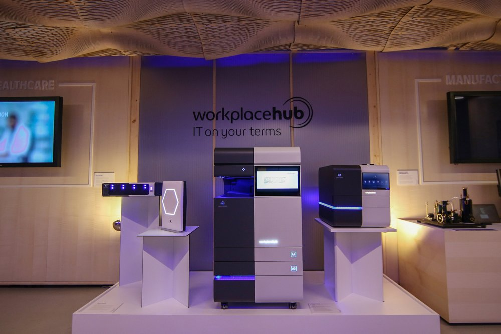 Cebit Konica Minolta - Workplace Hub