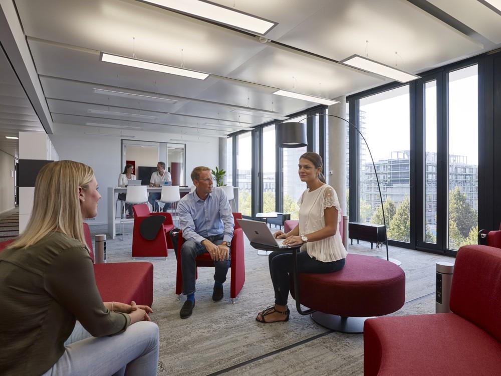 Vier Arbeitsbereiche stellen die persönliche Produktivität und die Zusammenarbeit im Team in den Mittelpunkt. Foto: Microsoft