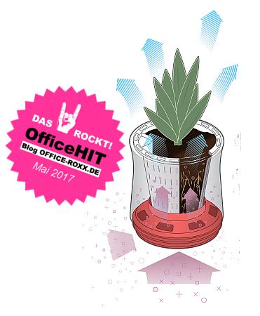 Airy - Pflanzentopf als Luftfilter