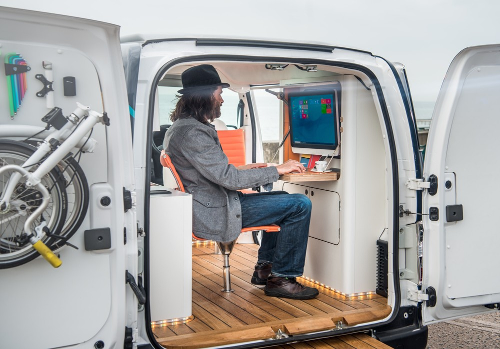 Nissan e NV200 WORKSPACe
