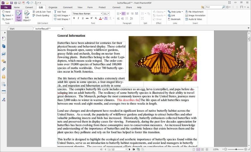 In PhantomPDF von Foxit lassen sich einzelne Abschnitte von Word-, Excel- und PowerPoint-Dateien beim Erstellen eines PDFs auswählen.