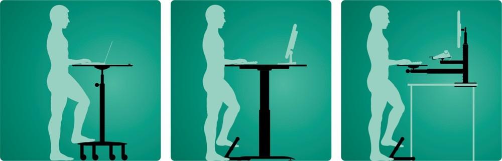 Ergonomische Konzepte für mehr Bewegung am Arbeitsplatz