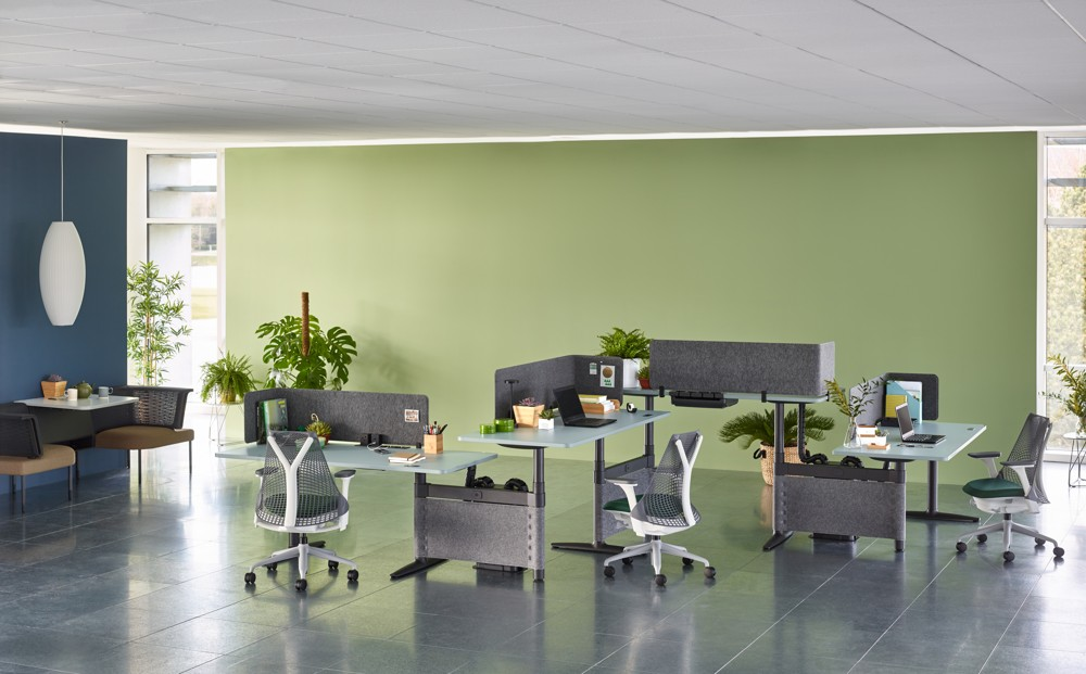 Atlas Office Landscape Von Herman Miller.