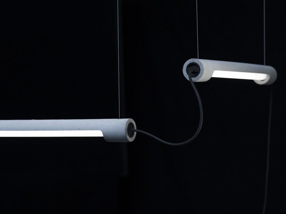 LED-Röhrenlampe LICHT 1 von Kiën.