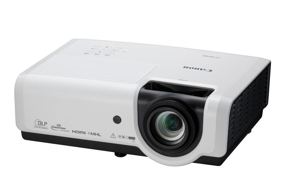 Projektor LV-HD420 von Canon.