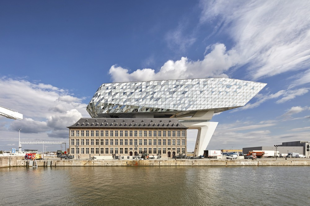 ZHA Port House Antwerpen