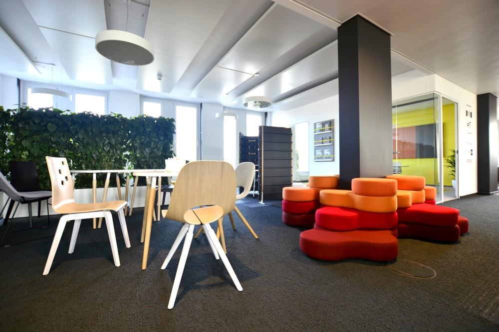 Eindrücke aus dem neuen Showroom der Nowy Styl Group in Frankfurt am Main.