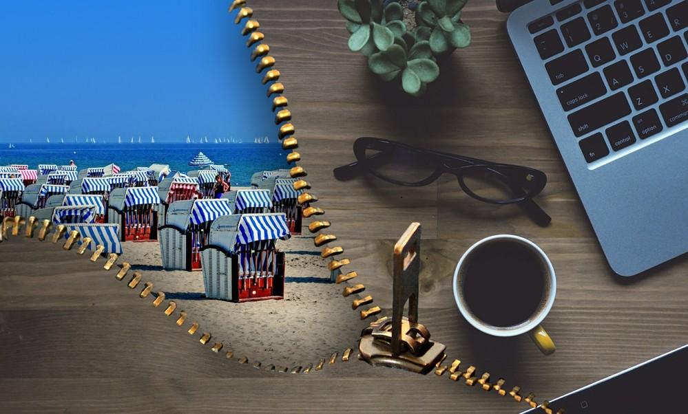 Urlaub Büro