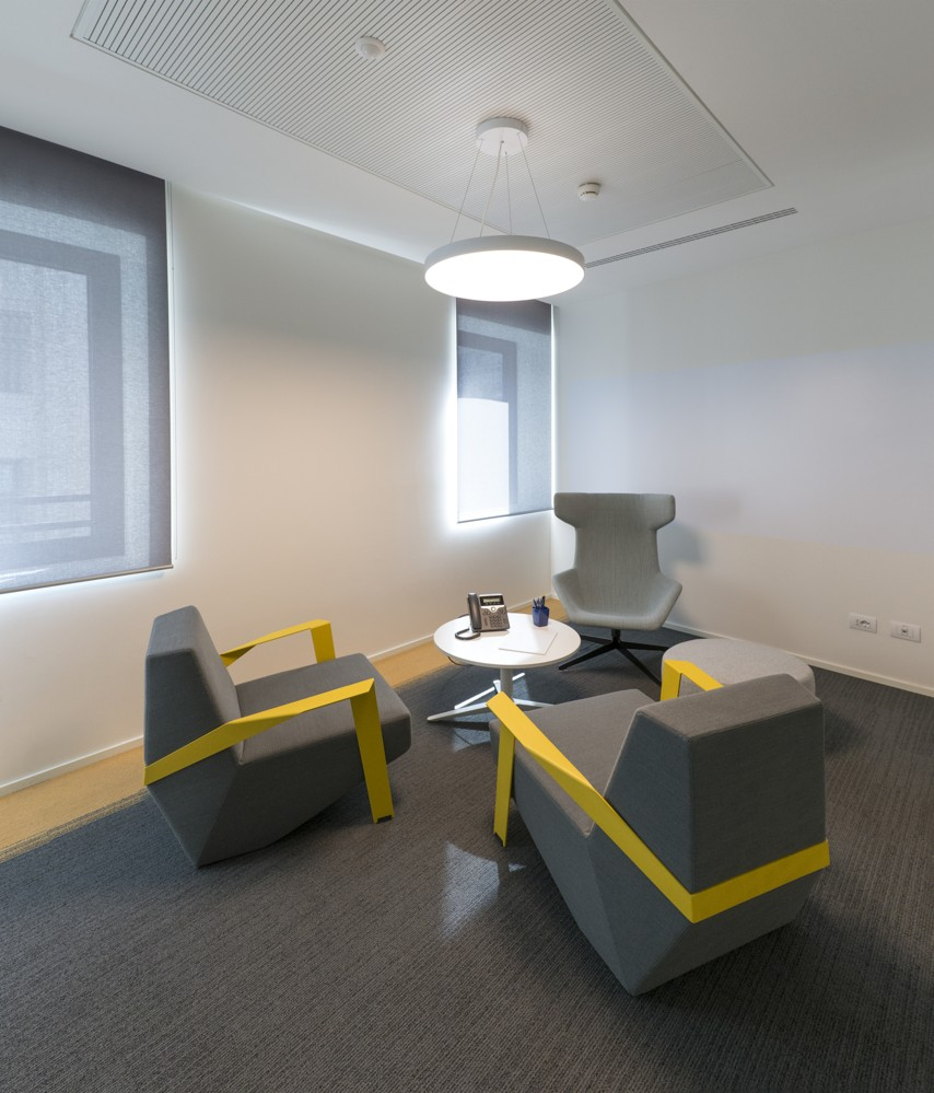 EY: Einer der Focus Rooms für konzentrierten Austausch. Foto: Dario Tettamanzi