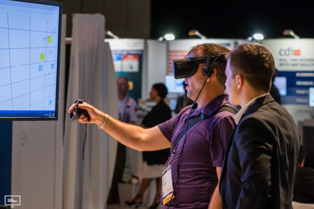 Digitales Whiteboard: Das neXboard in der virtuellen Realität.