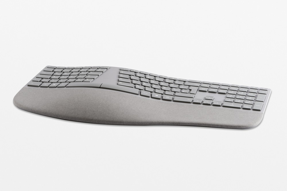 Surface Ergonomische Tastatur von Microsoft.