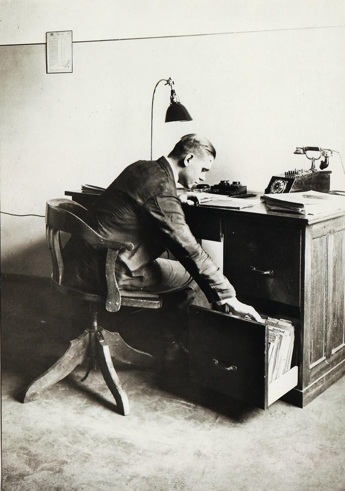 Auf dem Federdreh von Stoll (1926) ... Foto: Hersteller