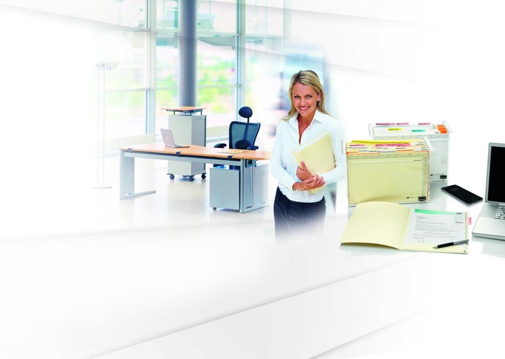Übersichtlich und gut strukturiert im Büroalltag