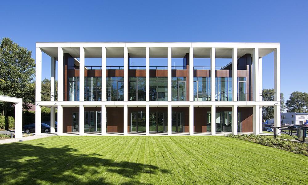 Außenansicht des Office Office Inspiration Centres in Krakau. Foto: Nowy Styl