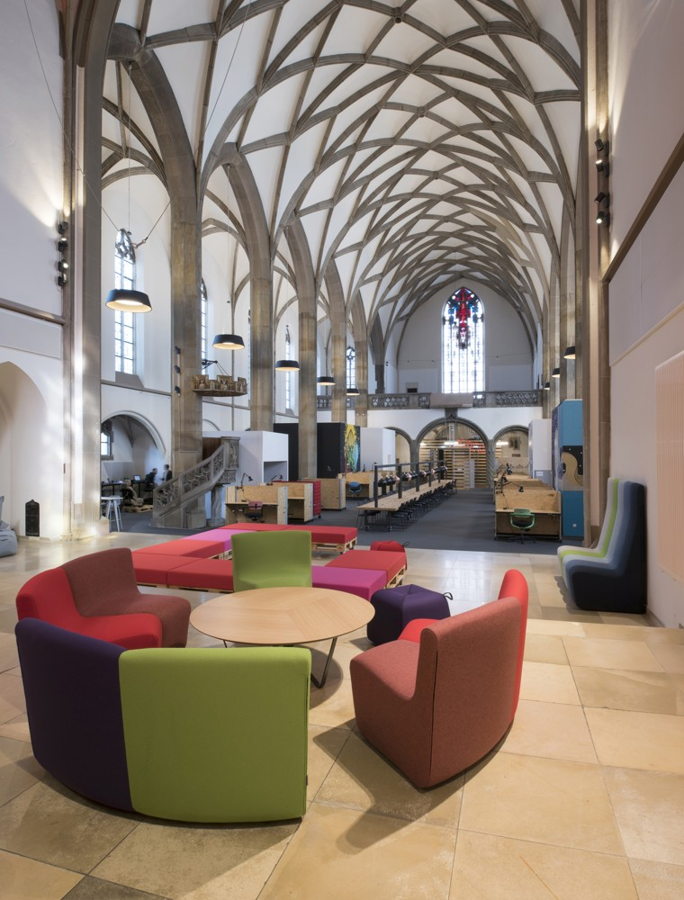 Digital Church: Kirche wird zum Coworking-Space
